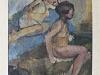 """Augustinas Savickas. """"Besimaudančios moterys"""". 1960 m."""